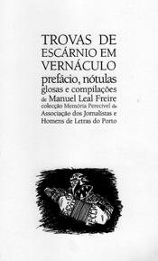 «Trovas de Escárnio em Vernáculo - Manuel Leal Freire