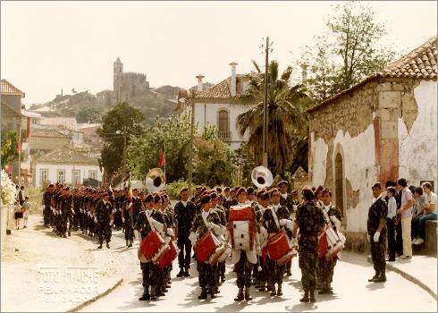 Parada Militar em Penamacor