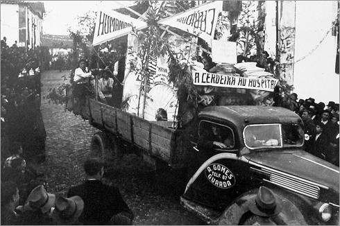 Cortejo de Oferendas - 1947 - Sabugal - Cerdeira do Côa