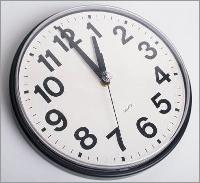Relógio - Mudança da Hora