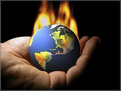 Aquecimento do planeta Terra