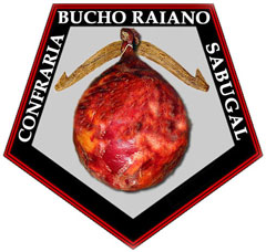 Brasão da Confraria do Bucho Raiano do Sabugal