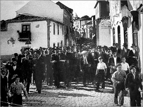 Desfile no Sabugal - 1947