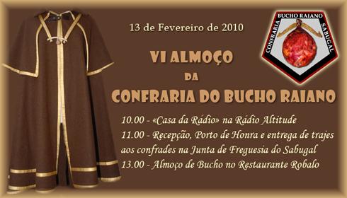 VI Almoço da Confraria do Bucho Raiano - Restaurante Robalo - Sabugal