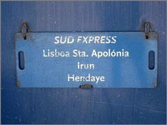 Sud-Express - Lisboa - Vilar Formoso - Hendaye - Irun