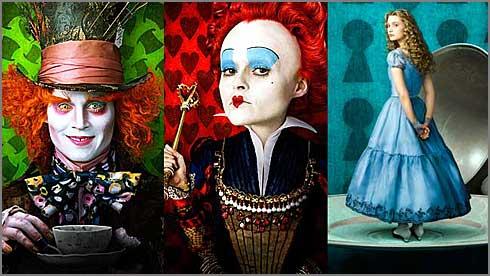Alice no País das Maravilhas - Tim Burton