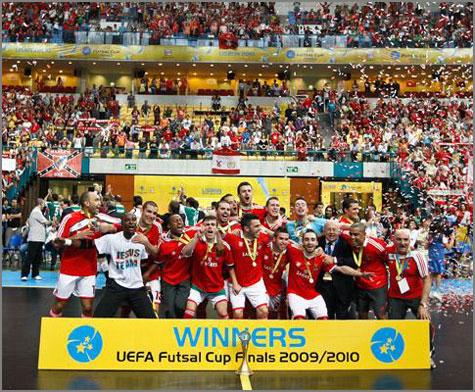 Benfica Campeão Europeu Futsal