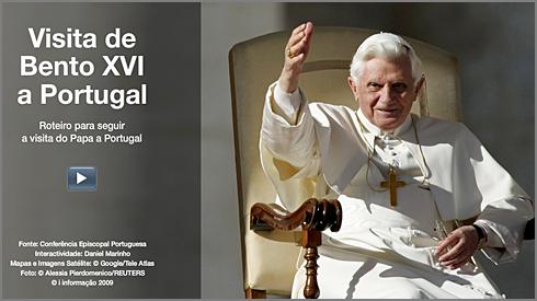 Papa Bento XVI - Visita Portugal