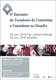 8.º Encontro de Tocadores de Concertina e Cantadores ao Desafio - Inatel Guarda