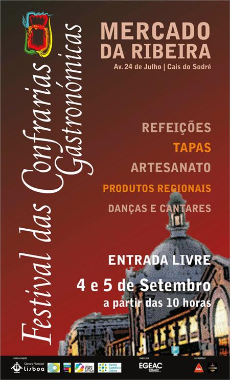 Festival Confrarias Gastronómicas - Mercado Ribeira - Lisboa