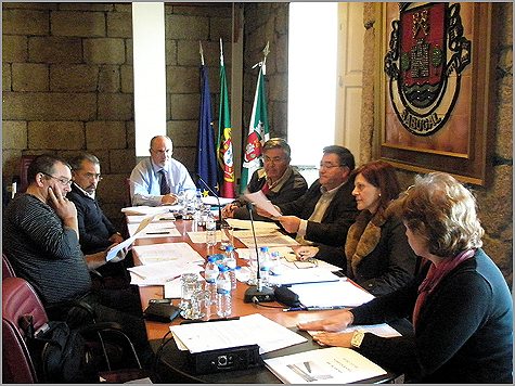 Reunião Executivo Câmara Municipal Sabugal