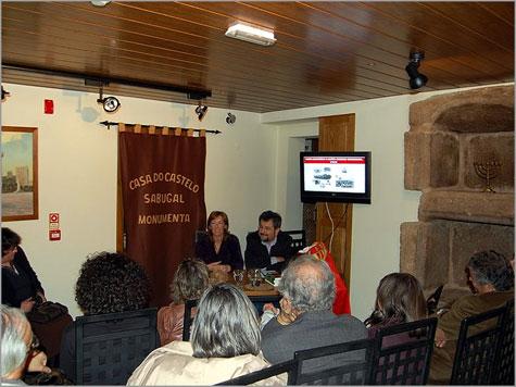 Jorge Martins - Natália Bispo - Casa do Castelo - Sabugal