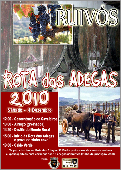 Rota Adegas 2010 - Ruivós - Sabugal
