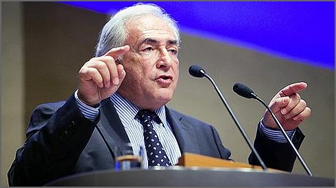 Strauss-Khan - director geral do FMI