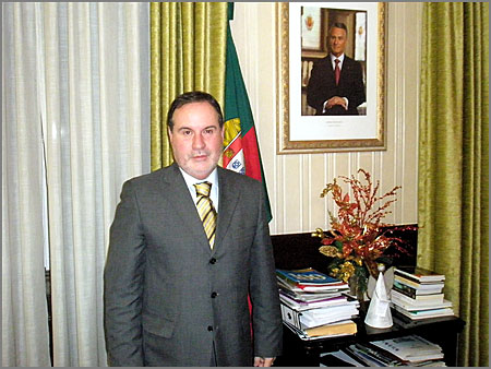 Santinho Pacheco - Governador Civil da Guarda - Capeia Arraiana