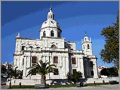 Igreja da Memória, em Lisboa. Foi mandada construir pelo marquês de Pombal, no local onde D. José sofreu o atentado, em memória de o rei se ter salvo. Nela se encontra sepultado o próprio marquês de Pombal