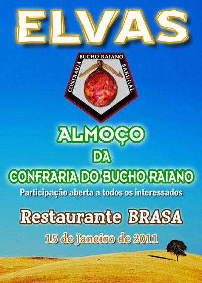 Elvas - Restaurante Brasa - Confraria Bucho Raiano - Capeia Arraiana