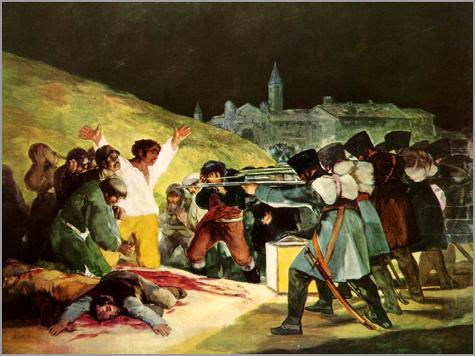 Goya - Fuzilamento