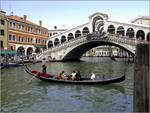 A Ponte de Rialto, Veneza, Itália