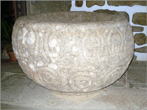 Pia Baptismal de Vilar Maior - Sabugal