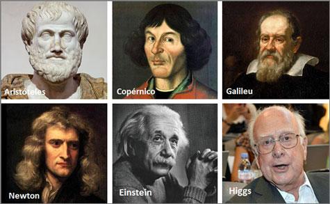 Alguns dos grandes «construtores» da Ciência