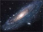 A Galáxia de Andrómeda